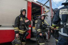 В результате пожара никто не пострадал