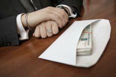 Поправки предполают снижение штрафов как за получение, так и за дачу взятки