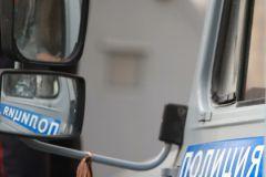 На месте происшествия работают правоохранители