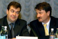Дмитрий Медведев и Герман Греф