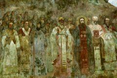 Фрагмент фрески «Крещение Руси»