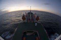 Российский траулер пошел ко дну у берегов Испании