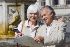 Пожилые туристы
