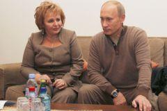 Владимир Путин и его экс-супруга Людмила