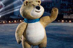 Медведь на открытии Олимпиады в Сочи (2014)