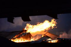 Пожар в центре Москвы ликвидировали