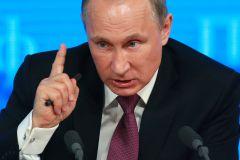 Путин заявил о намерении Запада дискредитировать российскую власть