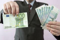 27 февраля биржевой курс евро опустился ниже 69 рублей