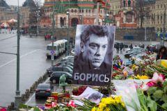 Борис Немцов был убит 27 февраля на Большом Москворецком мосте