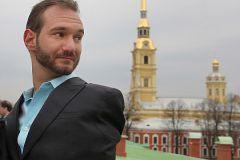 Ник Вуйчич в Санкт-Петербурге