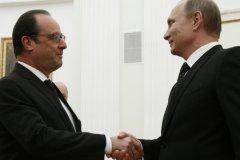 Владимир Путин отменил встречу с Франсуа Олландом