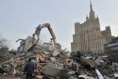 Снос «самостроя» в Москве