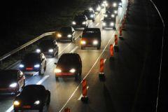 Риск аварий возрастает на треть с наступлением темноты