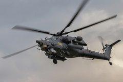 Вертолет Ми-25 с экипажем из России сбили в Сирии