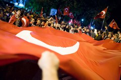 Мятежники пытаются совершить переворот в Турции