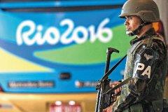 Полицейских в Рио больше, чем спортсменов