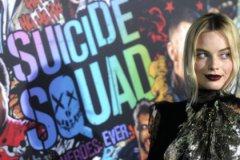 Марго Робби на премьере «Отряда самоубийц» в Нью-Йорке
