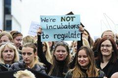 Только в одной Варшаве на улицы вышли около 30 тысяч человек