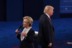 Хиллари Клинтон в ходе теледебатов со своим оппонентом Дональдом Трампом назвала ситуацию в Сирии «катастрофической»