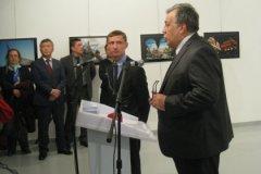 Посол РФ в Турции Андрей Карлов за секунды до гибели