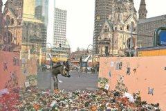 Площадь Брайтшайдплац, где был совершен декабрьский теракт