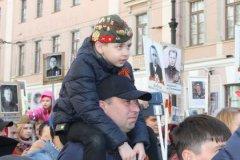 """Так в этот раз проходила акция """"Бессмертный полк"""" в Санкт-Петербурге"""