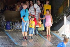 Украинские беженцы в России