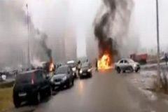 Расстрел машины полиции в Петербурге: версии ограбления