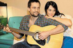 Дмитрий Миллер с женой Юлией