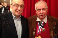 Левон Айрапетян (слева) и Георгий Трапезников