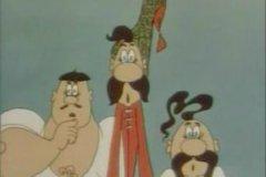 Три запоминающихся персонажа (Грай — мелкий, Око — тощий и Тур — крепыш), оказываются во всевозможных ситуациях