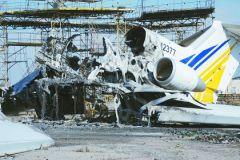 руины на месте Донецкого аэропорта