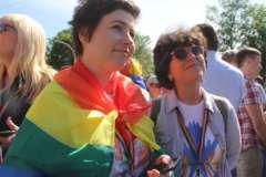 12 июня в Киеве прошел Марш равенства, призванный привлечь внимание к дискриминации ЛГБТ-сообщества