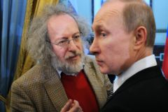 Алексей Венедиктов и Владимир Путин