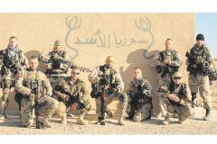 Бойцы ЧВК в Сирии