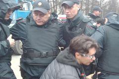Полиция никак не реагирует на столкновения около «Дубков»