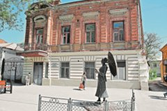 В этом доме на бывшей Николаевской улице в Таганроге Фаня Фельдман прожила 19 лет