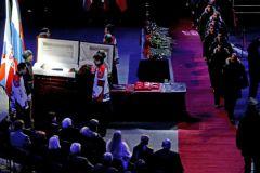 похороны Тихонова