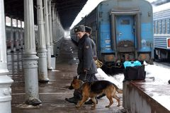 В пятницу неизвестный сообщил о бомбе на Курском вокзале