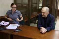 Левон Айрапетян и один из его адвокатов Христина Василенко