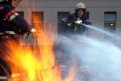 Тушили пожар 1,5 часа 16 единиц специальной пожарной техники и 125 человек пожарных