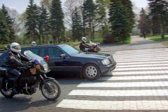 Охрана кортежа главы Дагестана повредила машины