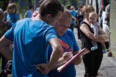 Украинские беженцы в Ростовской области