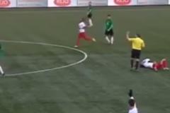 Инцидент произошел во время матча между командами «Барендрехт» и «Схевенинген»