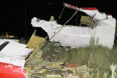 Обломки Boeing-777