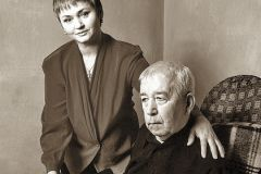 Борислав Брондуков c женой Екатериной