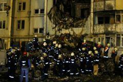 Последствия взрыва бытового газа в волгоградской многоэтажке
