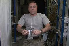 Антон Шкаплеров на МКС