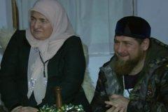 Аймани Кадырова и Рамзан Кадыров