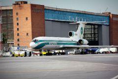МЧС назвало возможную причину пожара в аэропорту Толмачево